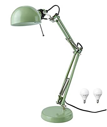 Ikea Classic Forsa Work Lamp And E12 Bulb Bundle