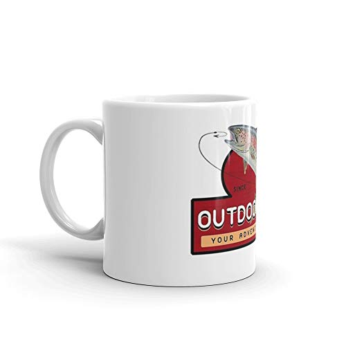 Outdoor Man Mug, Shirts etc. (Last Man Standing) Mug 11 Oz White Ceramic