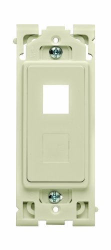Leviton Renu QuickPort 2-Port Insert with Blank Adapter RE640-NS, in Navajo Sand (Leviton Blank Insert)
