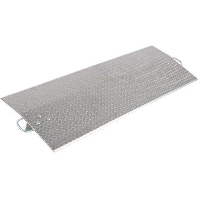 Vestil Economizer Dockplate - Aluminum, 6,500-lb. Capacity, 24in.L x 72in.W, Model# E-7224