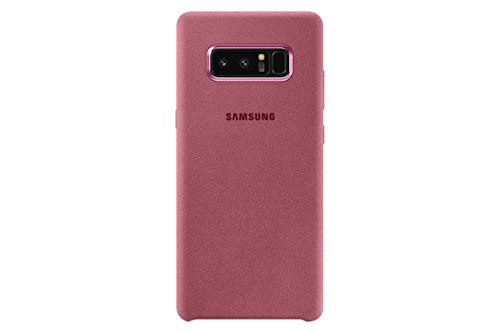 Samsung Note 8 Alcantara Cover - Funda para Samsung Galaxy Note 8, color gris oscuro Rosa
