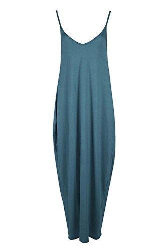 Be Blu Verde Vestito Jealous Donna HH7pA