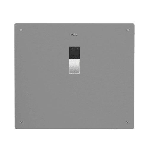 Totog|#Toto TET2LA33#SS 14-Inch by 12-Inch Concealed Sensor Toilet Flush Valve, Back Spud Floor-1.28-Gpf, Stainless (Gpf Concealed Flush Valve)