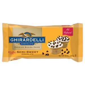 Ghirardelli Chocolate Mini Semi-Sweet Chocolate Baking Chips,