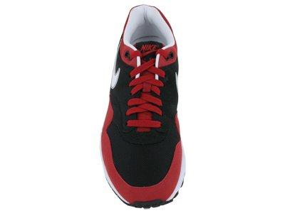 Nike Mens Air Max 1 Svart / Varsity Röd / Vit