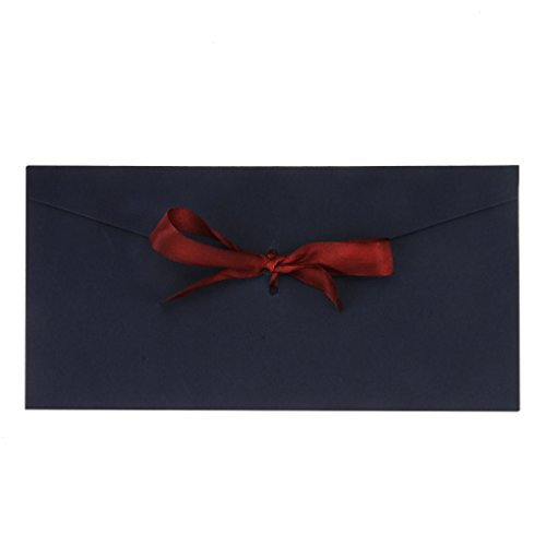 10 Pack Ribbon Buckle Envelopes Kit 8.7