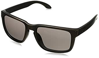 Oakley Men's Holbrook OO9102-57 Rectangular Sunglasses,Brown Decay,55 mm