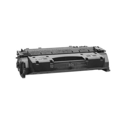 Remanufactured Replacement Laser Toner Cartridge for Hewlett Packard CF280X (HP 80X) High-Yield Black, Office Central