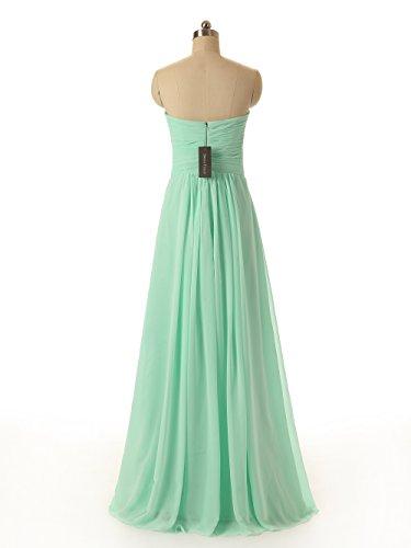 5abe8064dde6 Dresstells Sweetheart Bridesmaid Chiffon Prom Dresses Long Evening ...