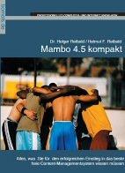 Mambo 4.5 kompakt: Einstieg in das beste Open Source Content-Managementsystem