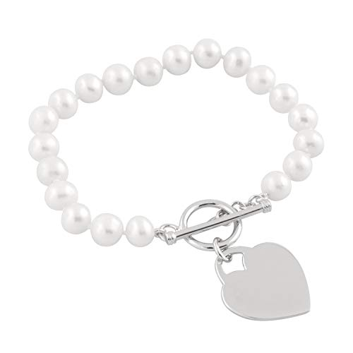 Handpicked AAA+ 7-7.5mm White Freshwater Cultured Pearls 7