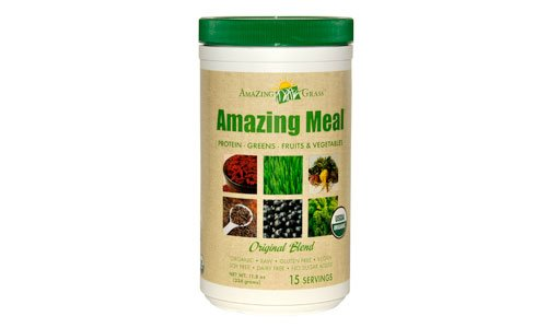 Amazing Grass, Amazing Meal, Original Blend, 11.8 oz: Amazon ...