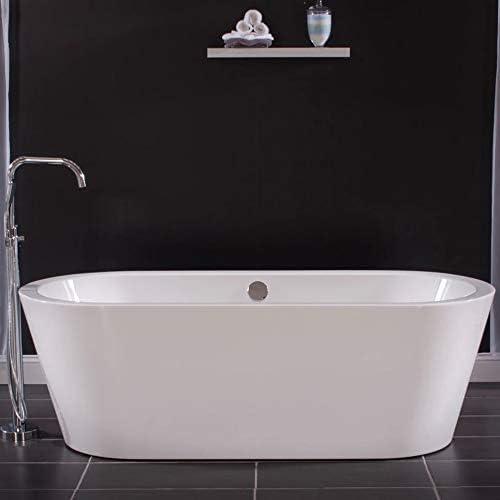Miseno 3034273 Acrylic Free Standing 71″ X 32″ Bathtub