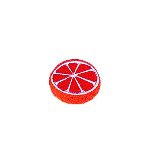 Haodou Parches de Bordado Pa/ño de Frutas /árbol de Coco Peque/ño Parche El Hierro para La Ropa de Los Ni/ños del Sombrero del Bolso Appliques Pegatina Accesorios 15 Piezas
