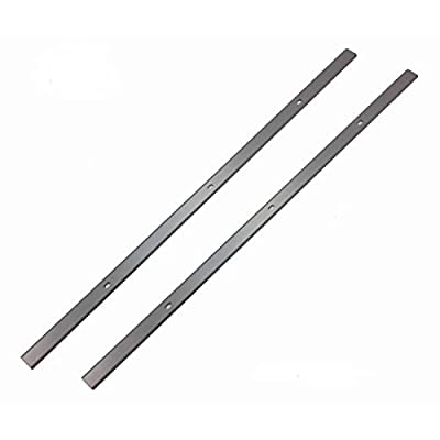 12.5-Inch Replacement Blades Knive For WEN 6550 Benchtop Thickness Planer - Set of 2