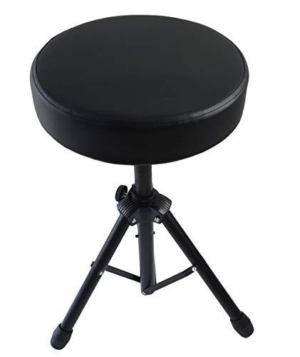 Feibrand Taburete para bateria con asiento acolchado