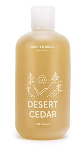 Juniper Ridge   Desert Cedar Body Wash   Concentrated Castile Soap   Organic Oils   No Synthetic Fragrance   Multi Use   8 oz Bottle
