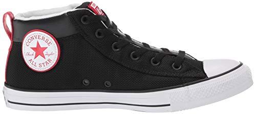 Chuck Taylor Red Hohe Unisex 000 Star All black enamel Schwarz Sneaker erwachsene Converse white wtBS6