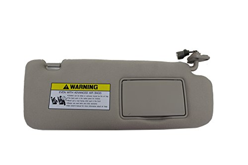 Genuine Hyundai 85202-0A750-QDQQH Sun Visor Assembly, Right
