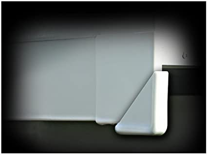 Camco 42203 Black Slide-Out Corner Guard Pack of 4 by Camco