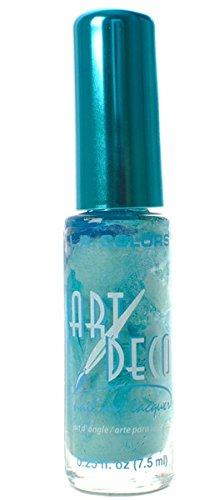 L.A. Colors Art Deco Nail Art 934 Sea Foam Green