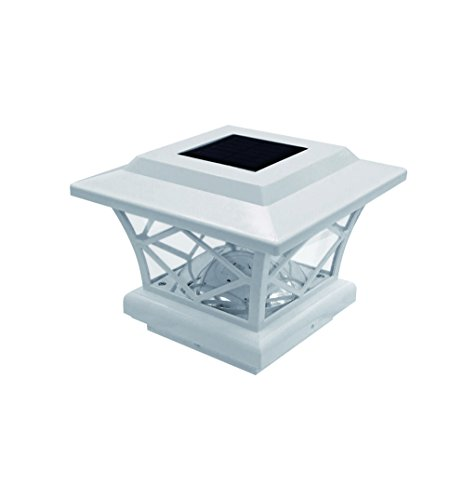 Pine Top Solar Garden Path Lights - 4