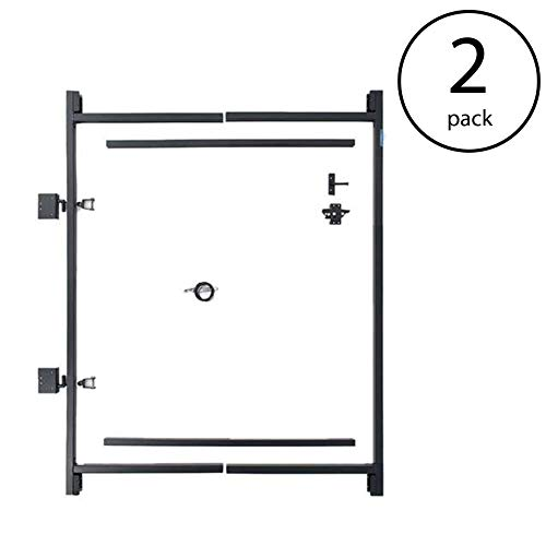 Adjust-A-Gate Steel Frame Gate Kit, 36''-60'' Wide Opening Up to 7' High (2 Pack) by Adjust-A-Gate (Image #7)