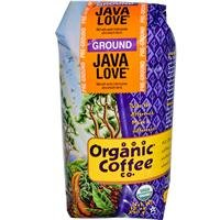The Organic Coffee Co., Java Love- Ground, 12 Ounce, USDA Organic