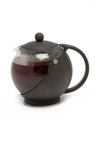 La Cafetiere TM971400 Le Teapot 2-Cup Tea Infuser, Black