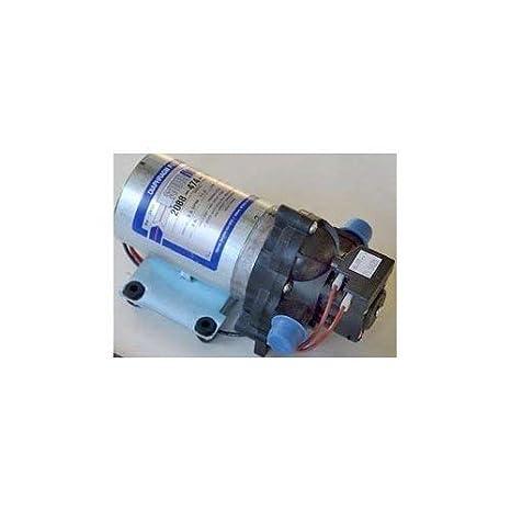 Shurflo 2088-474-144 Auto Demand Diaphragm Sprayer Pump, 3 0 GPM, Back-Flow  Preventive Valve and Self-Priming, Chemically Resistant Materials, 45-PSI,