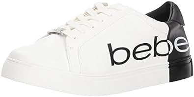 bebe Womens ZG17058H-29 Charley White Size: 8.5