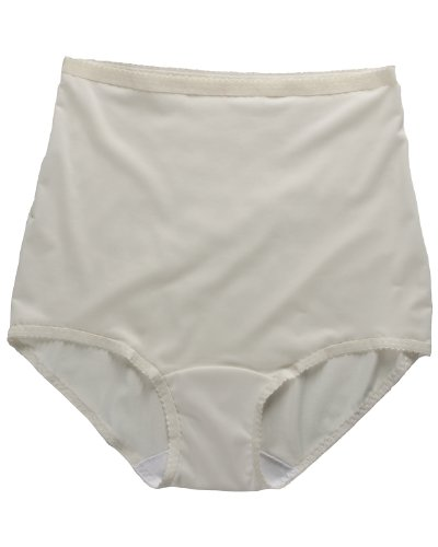 Shadowline Pants & Daywear Nylon Brief Panty (17005) 2X/Ivory