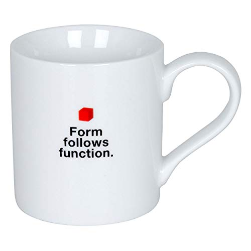 Könitz Bauhaus Mug - Form Follows Function