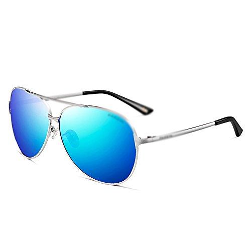 radiológica UV Gafas Gafas de de de MAZHONG de verano Gafas sol de sol hombres protección sol Gafas Vacaciones Gafas de Gafas de protección moda de de polarizadas C B playa para Gafas Gafas sol sol de A6Oqz6
