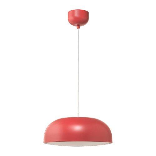 Ikea - Lámpara de techo, color rojo: Amazon.es: Iluminación