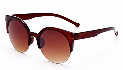 Enmarcadas Gafas De Sol Gafas Sol Caballero D De Sol Resina Mujer para JUNHONGZHANG De De re Gafas Gafas Retro para O5Sq0xv0