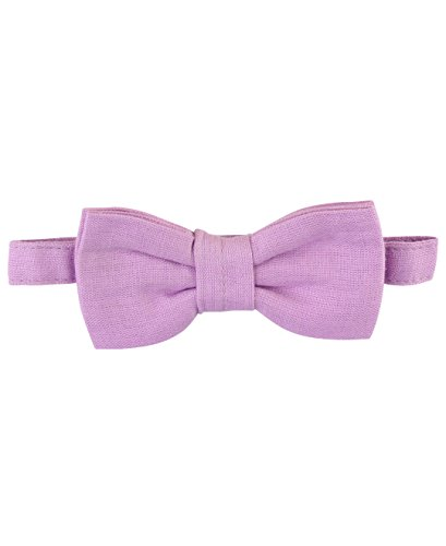 Infant Bowties (RuggedButts Infant / Toddler Boys Pre-tied Bow Tie / Bowtie - Lilac - 0-24m)
