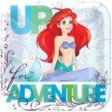 Disney Ariel The Little Mermaid Dream Big Square Plates 7