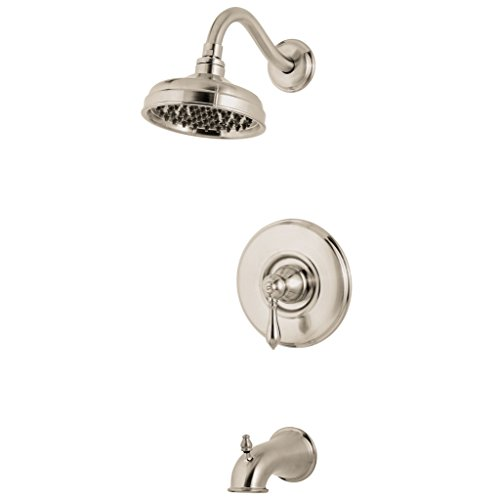 Pfister  G89-8MBK  Marielle Saxton 1-Handle Tub & Shower Trim 2.0 gpm Brushed (Marielle Shower Faucet)