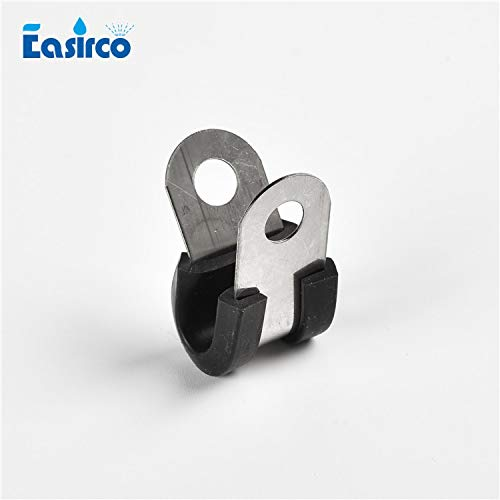 (Garden Water Connectors, (50Pcs/Pack) 3/8'' 8Mm 6Mm Pipe Clamps for Mist Cooling System)