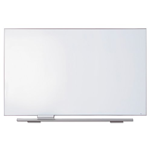 Iceberg ICE31460 Polarity Magnetic Porcelain Dry Erase Whiteboard, 44'' x 72'', White/Silver Frame by Iceberg