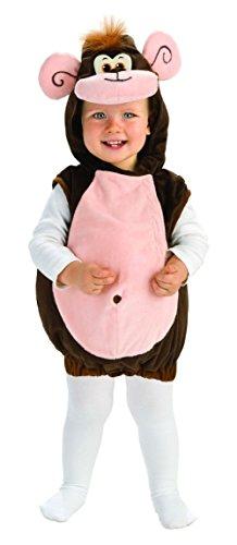 2t Monkey Costumes (Adorable Monkeyin' Around Toddler Costume Halloween Child Animal Monkey 2T-4T)