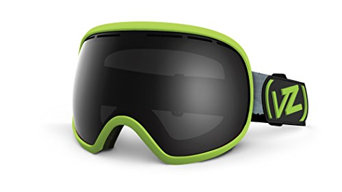 Von Zipper Fishbowl Ski Snow Goggles Calicamo Light Green Satin - Von Uk Zipper