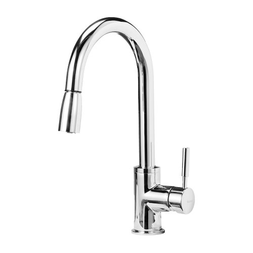 Blanco 441648 Sonoma 1.8 GPM Kitchen Faucet with Pull Down Spray, Small, Chrome