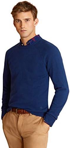 Brooks Brothers(ブルックス ブラザーズ) Red Fleece ラムズウール ラグランスリーブ クルーネックセーター 9231629200
