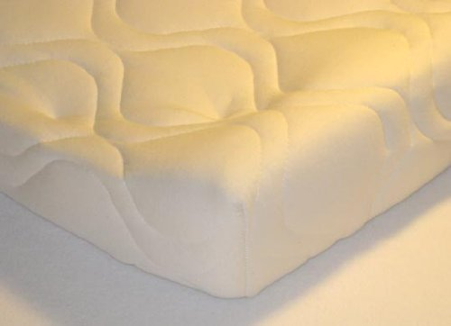 Quilted Contoured Changing Table Pad Cover - Ivory - Made In USA by SHEETWORLD.COM