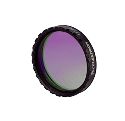 Celestron 94123 1.25-Inch UHC/LPR Filter (Black) from Celestron
