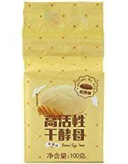 KANGneei 100g Bread Yeast Active Dry Yeast High Sugar Tolerant Yeast Baking Supplies