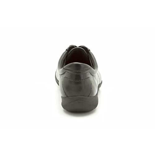 Clarks , Chaussures de ville à lacets pour femme Noir noir 35.5 (3 UK)