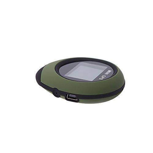 VGEBY Mini GPS Tracker Locator, Waterproof GPS,Personal Pocket GPS Navigator for Outdoor Hiking Camping Hunting Wild Exploration